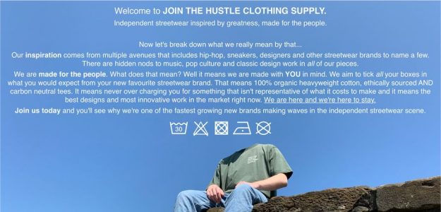 JOIN THE HUSTLE CLOTHING SUPPLY.